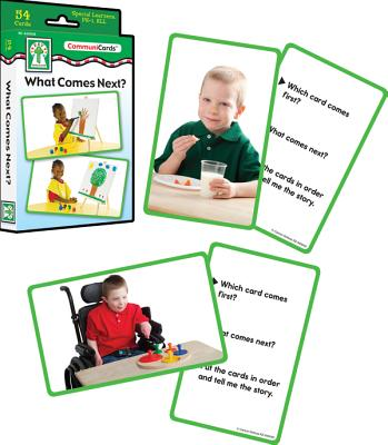 What Comes Next? Learning Cards By Key Education Publishing (COR)/ Carson Dellosa Publishing (COR)